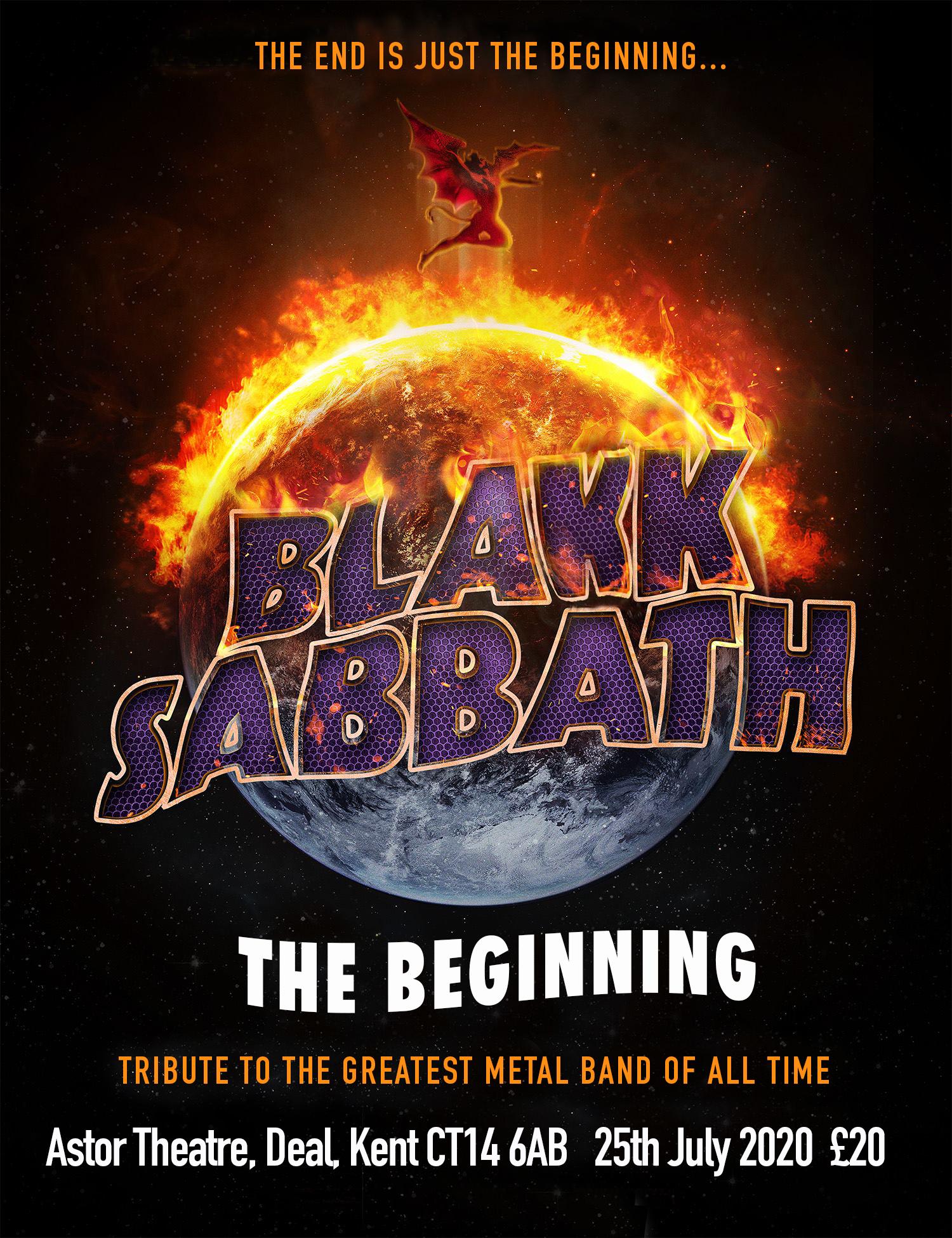 Blakk Sabbath poster Astor Theatre Deal Kent